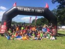2005 Girls and 2008 Boys Enjoy a sunny day at Hell and Back Junior