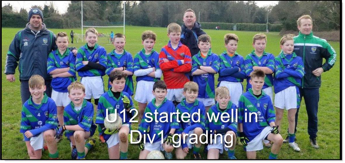 U12 v Na Fianna