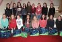 Girls under -14s at Féile 2016