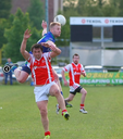 Shane O'Connor in action for New York in Connacht Championship