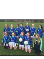 U12 Girls provided a fabulous exhibition of football against St. Finbarrs