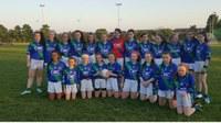U13 Girls dominate Na Fianna