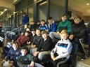 U14 hurlers support The Dubs