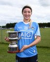 Dani Lawless With Cup