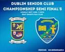 Support Our Senior Women in the Dublin Club Champ Semi Final Mon 23rd