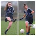 Syls Leah & Katie for Dublin u16 Championship - Sun 31st March