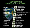 This Week's Match Fixtures