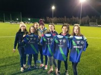 U13 Girls Kitted Out for 2020 - Thanks to Sponsors