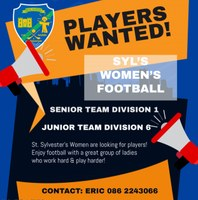 Women's Teams Looking for Players